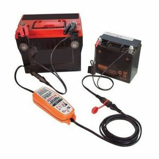 Optimate DC Battery To Battery Charger & Maintainer Lawnmower Motorcycle Quad