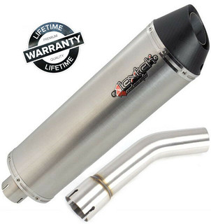 BMW R1200GS & Adventure (2004-2009) Lextek RP1 Oval Exhaust Silencer & Linkpipe