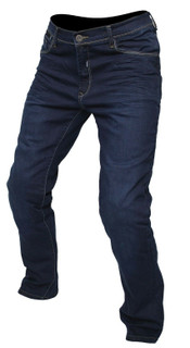 ARMR M799 Manhattan Mens Motorcycle Aramid Denim Jeans CE Armoured Trouser Blue