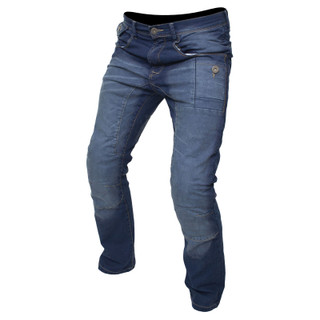 Motorcycle Jeans Denim CE Armour Aramid New Motorbike Trousers Tron By ARMR Moto