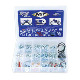 BOLT Hardware  Yamaha YZ 125cc Pro Track Pack, Nuts Bolts, Seals, Body Fasteners
