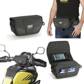 Givi T516 Universal Adventure Touring Motorcycle Motorbike Handlebar Bag / Pouch