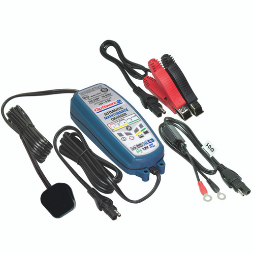 Optimate 2 Battery Charger and leads