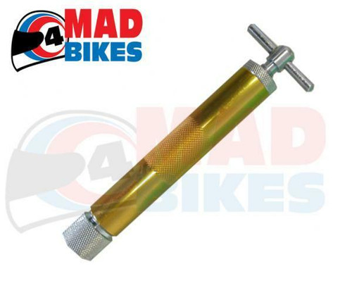 Motorcycle cable oiler tool