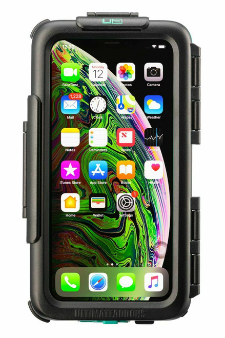 Ultimateaddons Waterproof Tough Motorcycle Case iPhone 12 Pro Front view