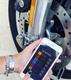 Xena XX14 BLE Disc Lock Alarm With BlueTooth on bike