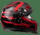 Techalogic DC-1 Dual View Helmet Camera on a motorcycle helmet