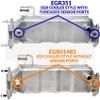 EGR01483 Bostech EGR Cooler