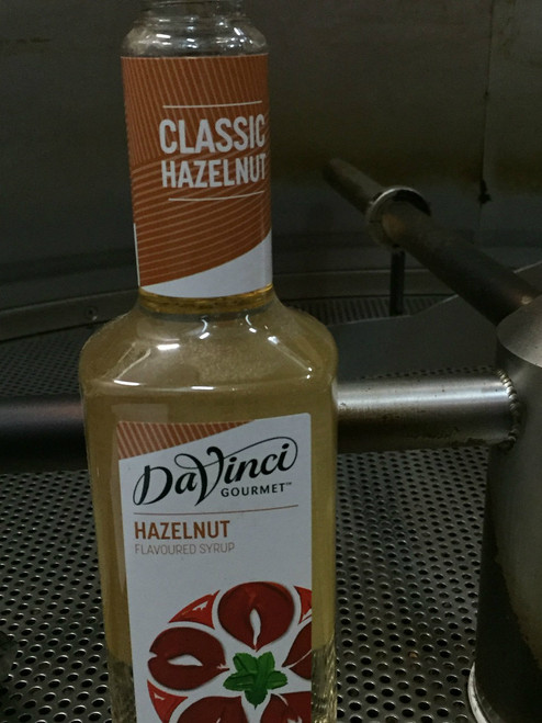 da vinci hazelnut syrup