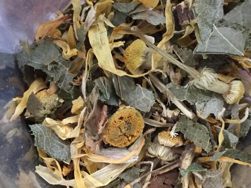 sweet root detox, loose leaf tea
