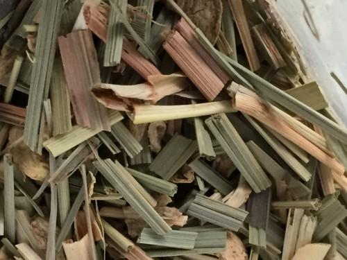 Lemongrass and ginger loose leaf tea