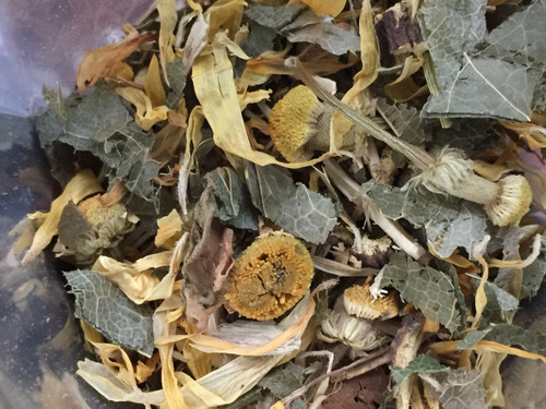 sweet root detox, loose leaf tea