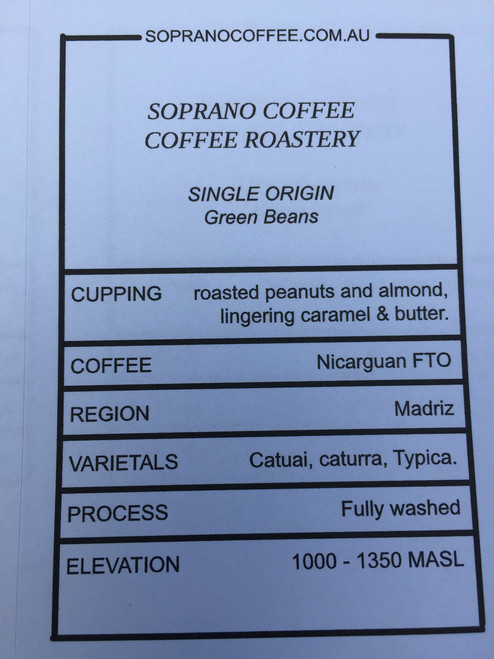 Tasting Notes Of Nicarguan Fairtrade Organic Coffee Beans