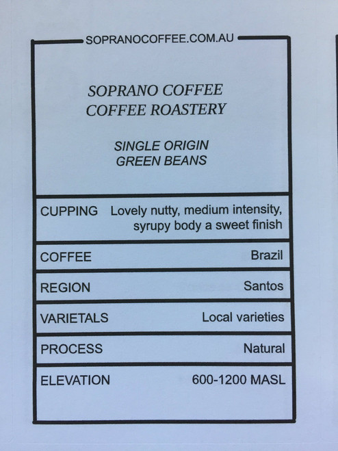 Tasting Notes Of Our Brazil Santas Coffee Beans