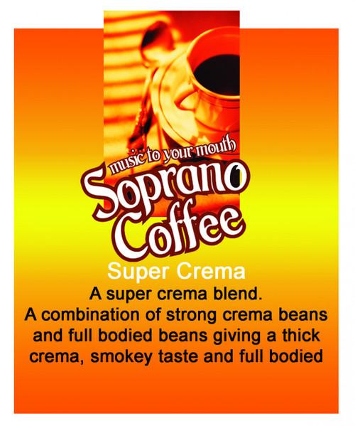 Super Crema Soprano Coffee From $22/kg wholesale coffee