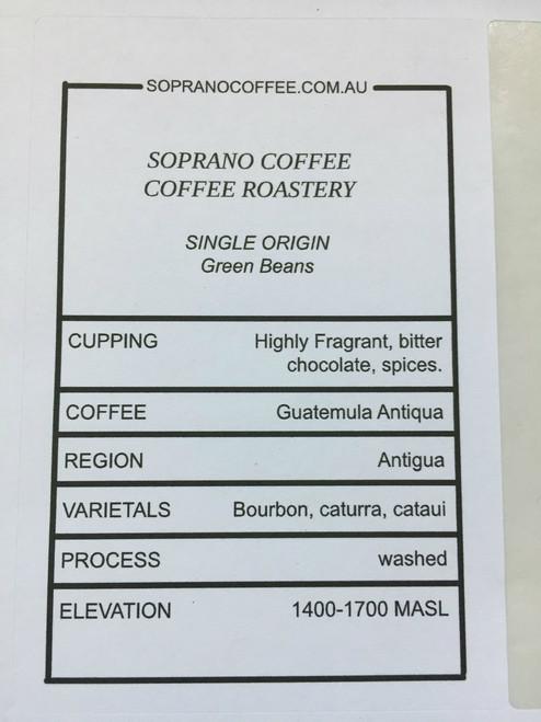 Tasting Notes Of Guatemalan Antigua Coffee Beans