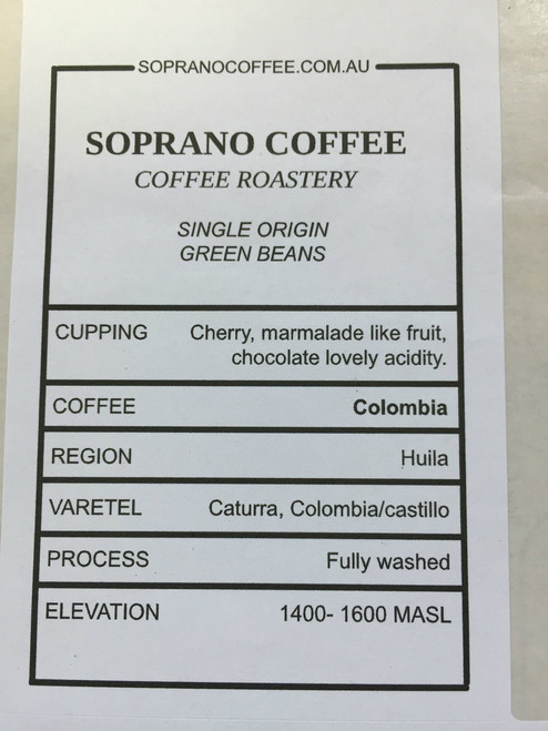 Tasting Notes Of the Colombian Supremo Coffee Beans