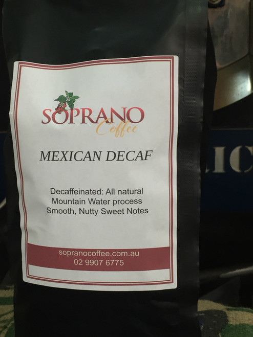 Mexican decaf coffee beans