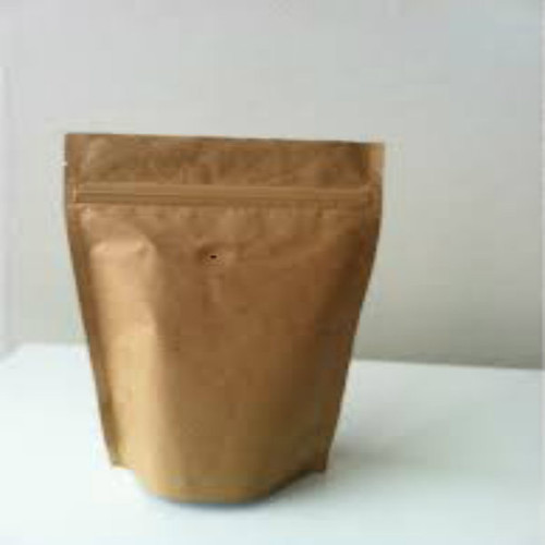 20 x 500g kraft zip lock coffee storage bag