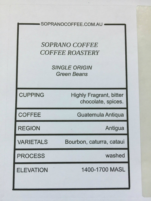 Tasting Notes Of Guatemalan Antigua Coffee Beans