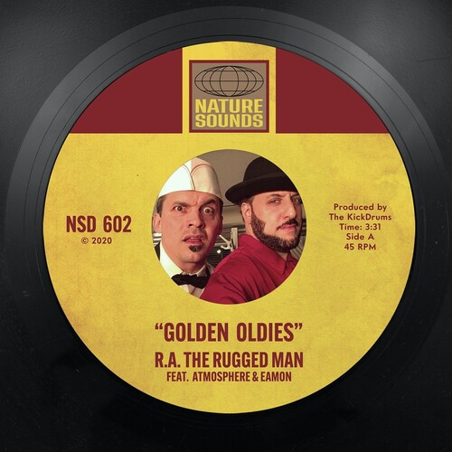 """R.A. RUGGED MAN - GOLDEN OLDIES / IT'S GONE 7"""""""