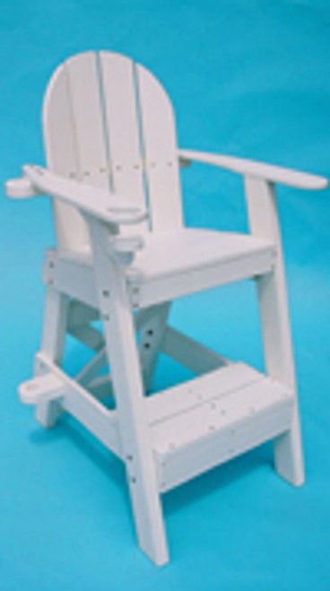 "Lifeguard Chair LG 510  41""L x 30""W x 61""H Seat Height 40"" Weight 110 lbs."