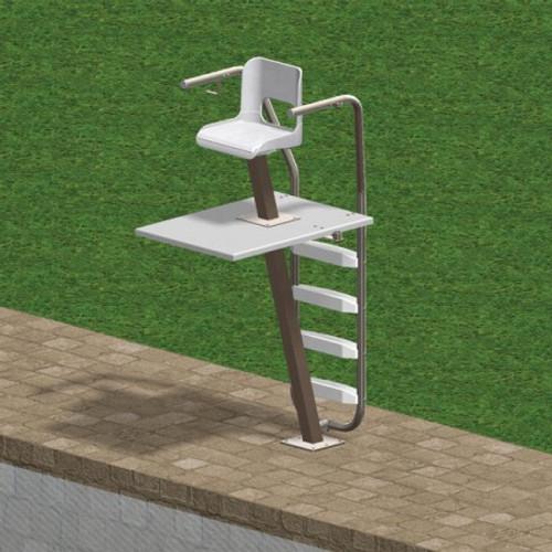Sapphire 6' Permanent Lifeguard Chair