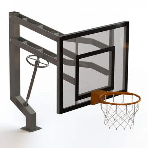 Adjustable Water Basketball Hoop for Pool Spectrum Products