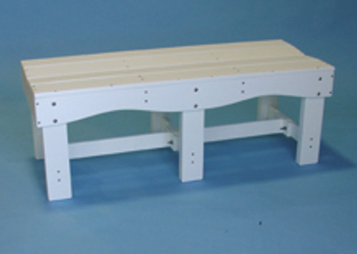 """Tailwind Portable 70"""" Backless Bench for Pool and Locker Room"""