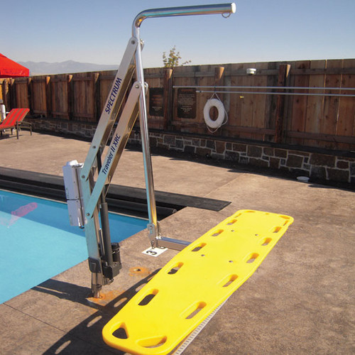 Spineboard Attachment Traveler Pool Lift