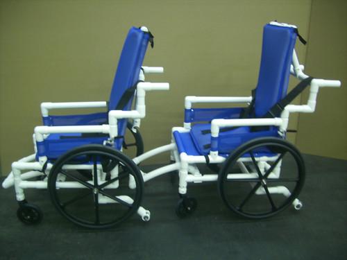 Aquatrek 2 AQ-250 Aquatic Wheel Chair with Reclining High Back
