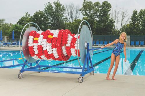 Competitor Elite Stor Swimming Pool Lane Line Reel Cover
