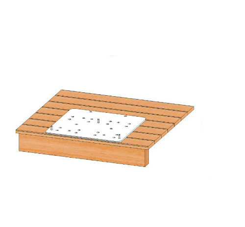 Wood Anchor for Spa Lift Elite & Ultra