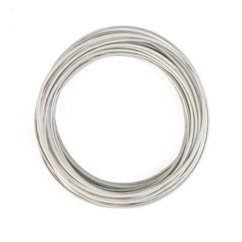 """Swimming Pool Competitor Lane Line 3/16""""  Stainless Steel Vinyl Coated Cable"""