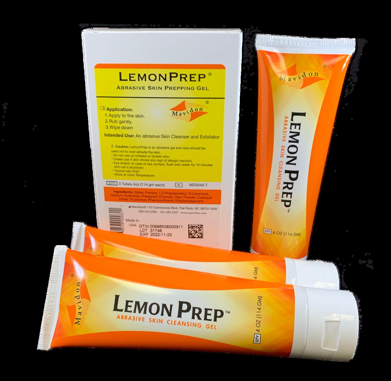 LemonPrep™ 4 oz Tubes (3 pack)