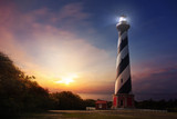 Historic American Lighthouses - Cape Hatteras North Carolina