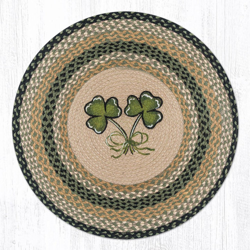 Earth Rugs™ Oval Patch Rug - Shamrock - RP-116