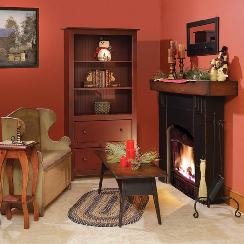 Amish Handcrafted Fireplace Mantel Vintage Creations By Sam
