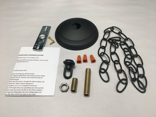 Ceiling Plate Canopy Kit For Mounting Chandeliers & Pendant Light Fixtures