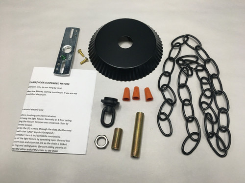 Crimped Edge Ceiling Plate Canopy Kit For Mounting Chandeliers & Pendant Light Fixtures