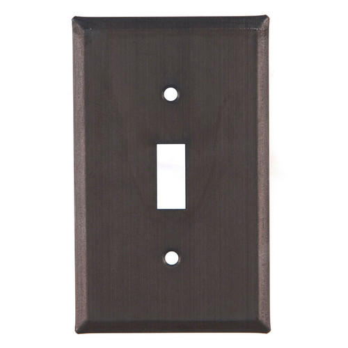 Kettle Black Single Plate Switch Cover
