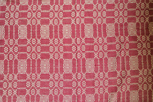 Cranberry Bayberry Weave Table Runner
