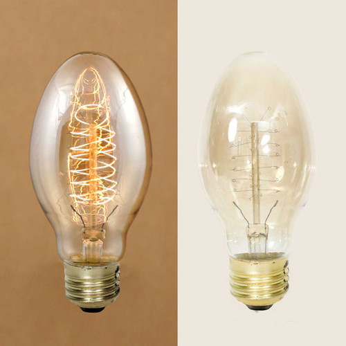 Oval Vintage Style Bulb