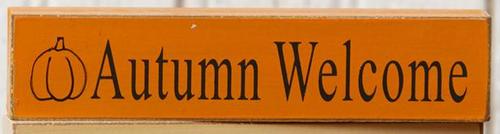 Autumn Welcome Mini Sign