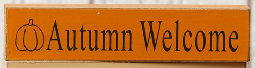 Autumn Welcome Mini Sign