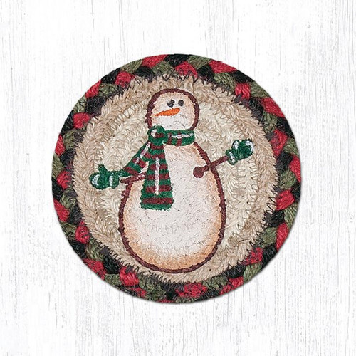 Moon & Star Snowman Coasters