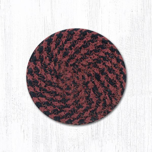 "Braided Cotton 4"" Round Coaster"