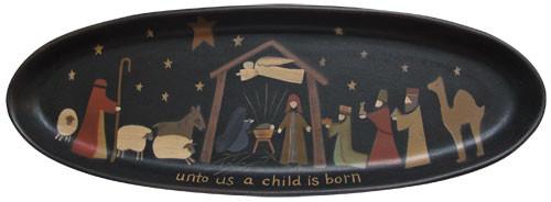 Nativity Tray