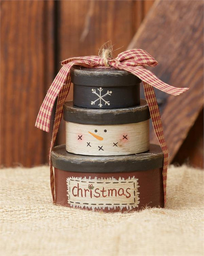 Mini Christmas Stack Boxes
