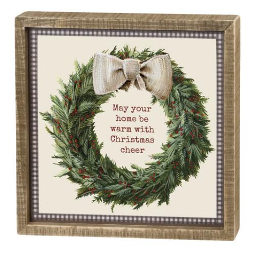 Christmas Cheer Box Sign